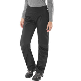 Black Diamond W's Stormline Stretch Full Zip Rain Pants Black